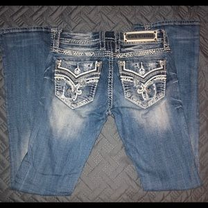 Rock Revival Jeans - Rock Revival Donna 25x32 like new mid rise boot